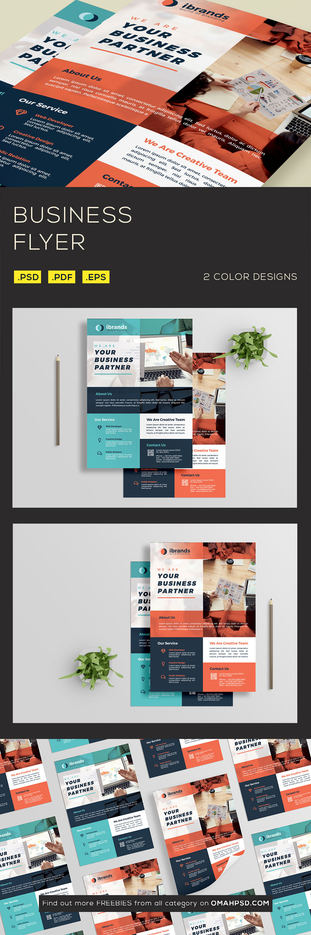Free Business Flyer Template - Preview