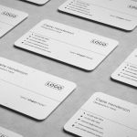 Free Rounded Business Card (PSD Template)