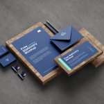 Free Stationery Mockup (5 Angles, PSD)