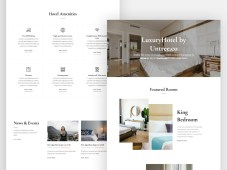 Luxury Hotel - Free HTML Website Template