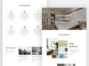 Luxury Hotel - Free HTML Website Template