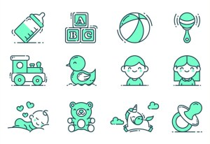 24 Free Baby & Kids Vector Icons (AI, SVG, EPS, PSD)