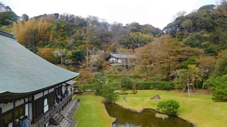 鎌倉・建長寺◆境内散歩(その3)◆方丈・唐門・得月楼・応真閣・庭園