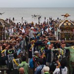 鎌倉・五所神社~例大祭(乱材祭)2019年~(4)海上渡御・還御・ふれあいまつり