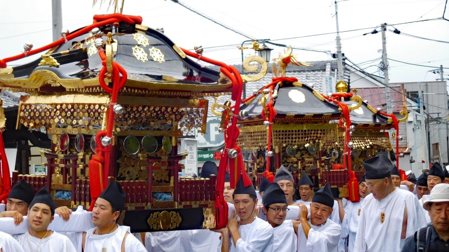 鎌倉大町・八雲神社~例大祭(大町まつり)2019年~(2)神輿御渡・神幸祭