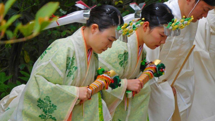 鶴岡八幡宮・四月の祭礼と行事~桜咲く卯月~
