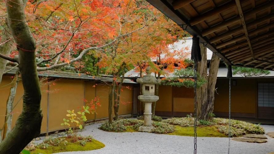 鎌倉・一条恵観山荘~紅葉の頃(2020年)~