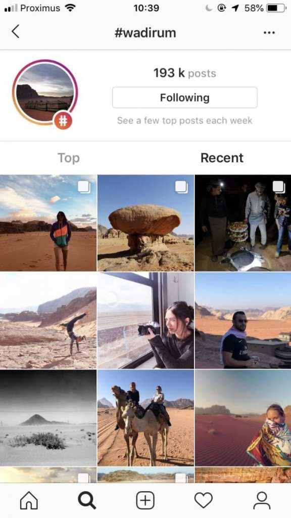 Instagram #wadirum