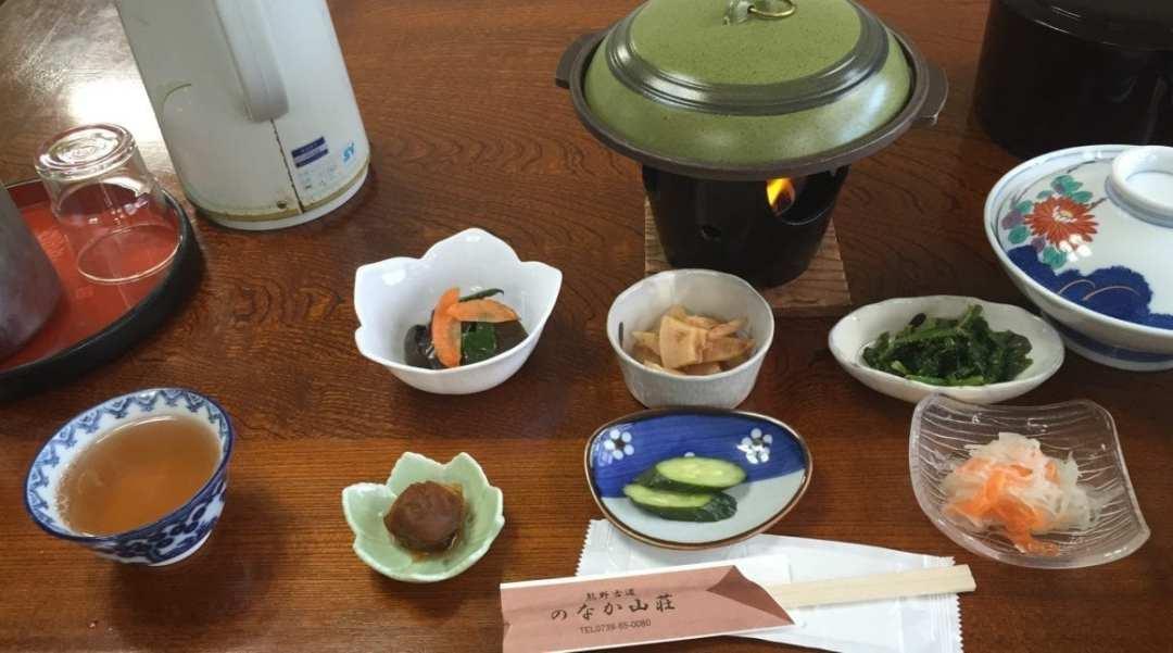 Kumano Kodo Great food