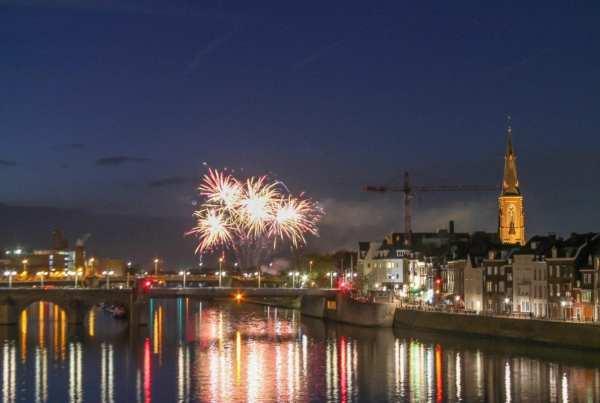 Maastricht fireworks