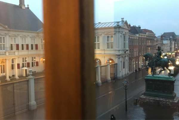 Hotel Indigo The Hague - Palace Noordeinde: view from my window