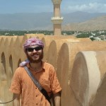 On top of the Nizwa Fort