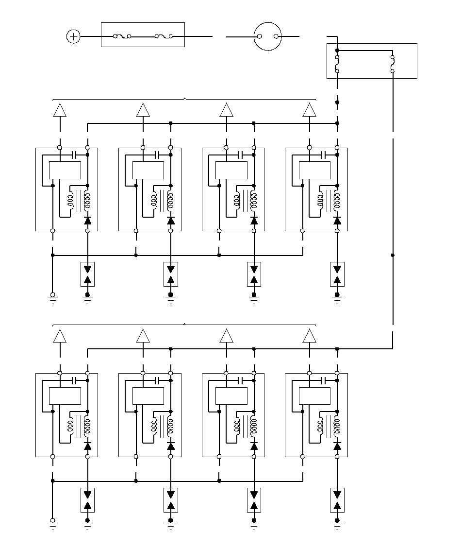 Схемы аккумуляторов » График схема системы зажигания