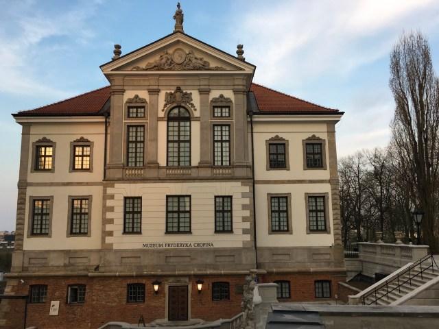da serie: o que fazer em Varsóvia: Imagem do Museu sobre a vida e arte do compositor Frederic Chopin em Varsóvia, na Polônia