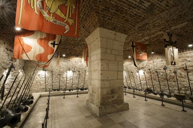 O Arsenal do Castelo de Wawel