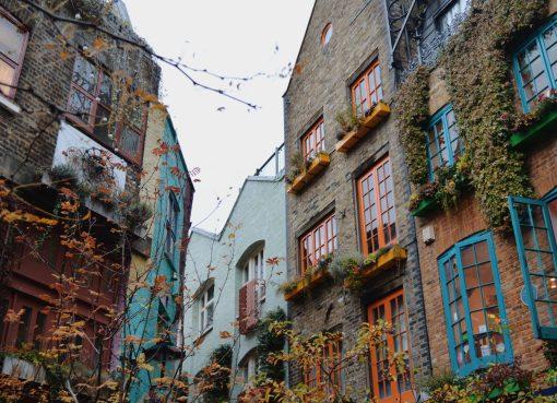 Imagem do Neal's Yard em Londres