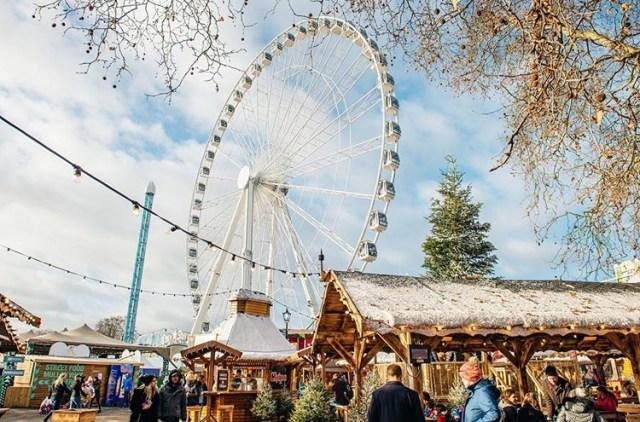Winter wonderland no Hyde Park em Londres