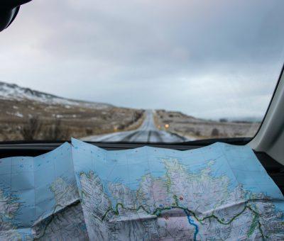 Road Trip e mapa