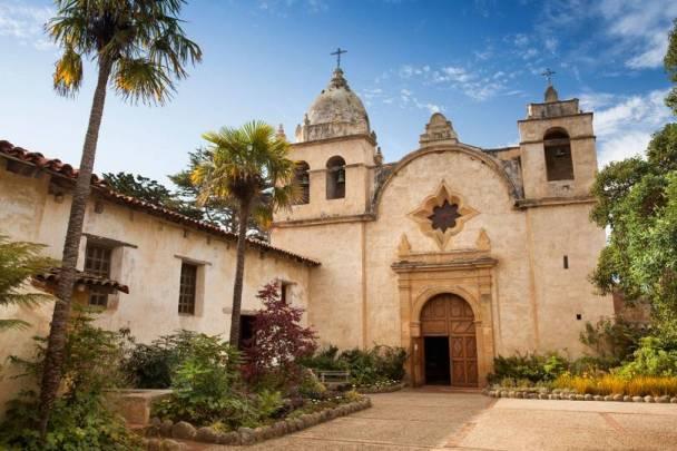 Basílica em Carmen, na Califórnia