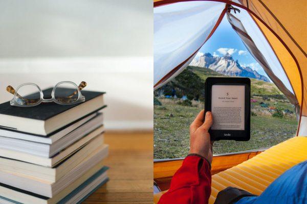 Livro físico ou Kindle?