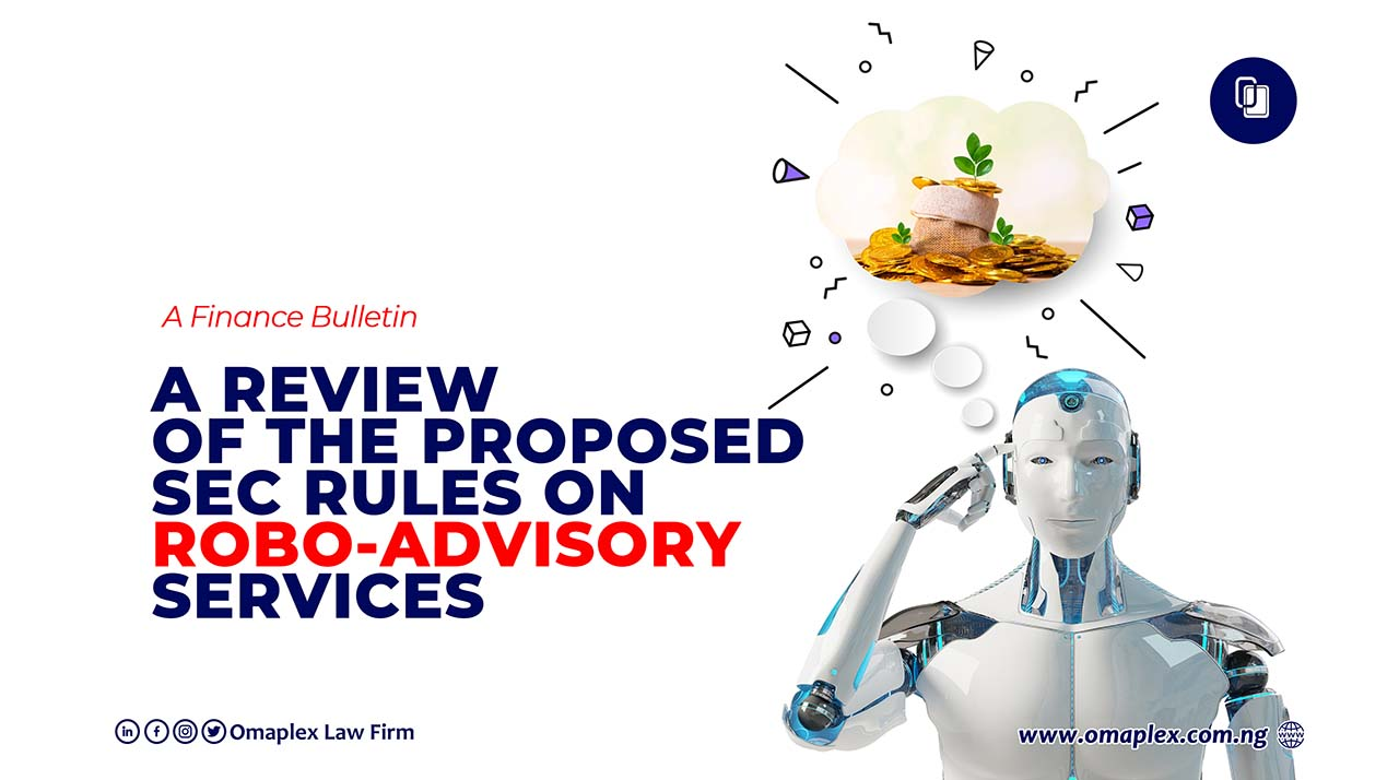 Proposed Sec Rules On Robo-Advisory Services