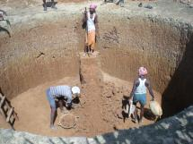 Hand Digging Water Well