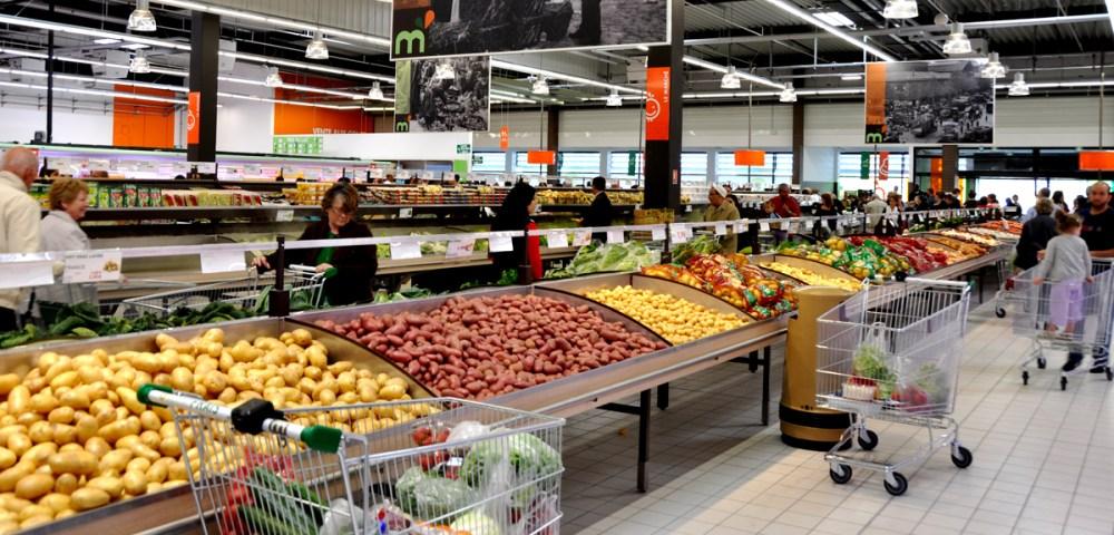 O marché frais La Courneuve PDT 1200
