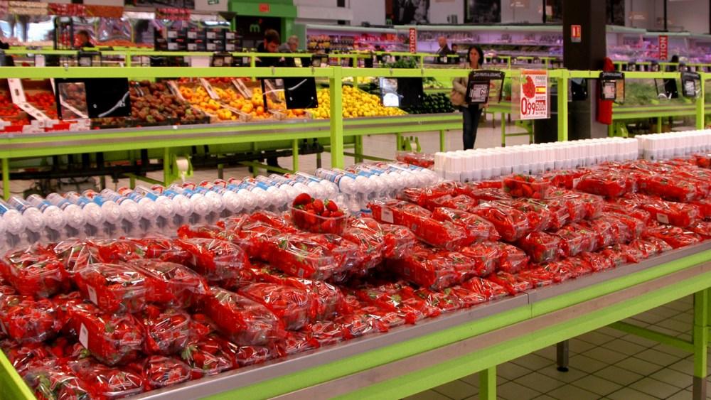 Etale fraise persan 1200