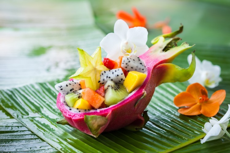 Salade de fruits exotiques frais par Marché Frais