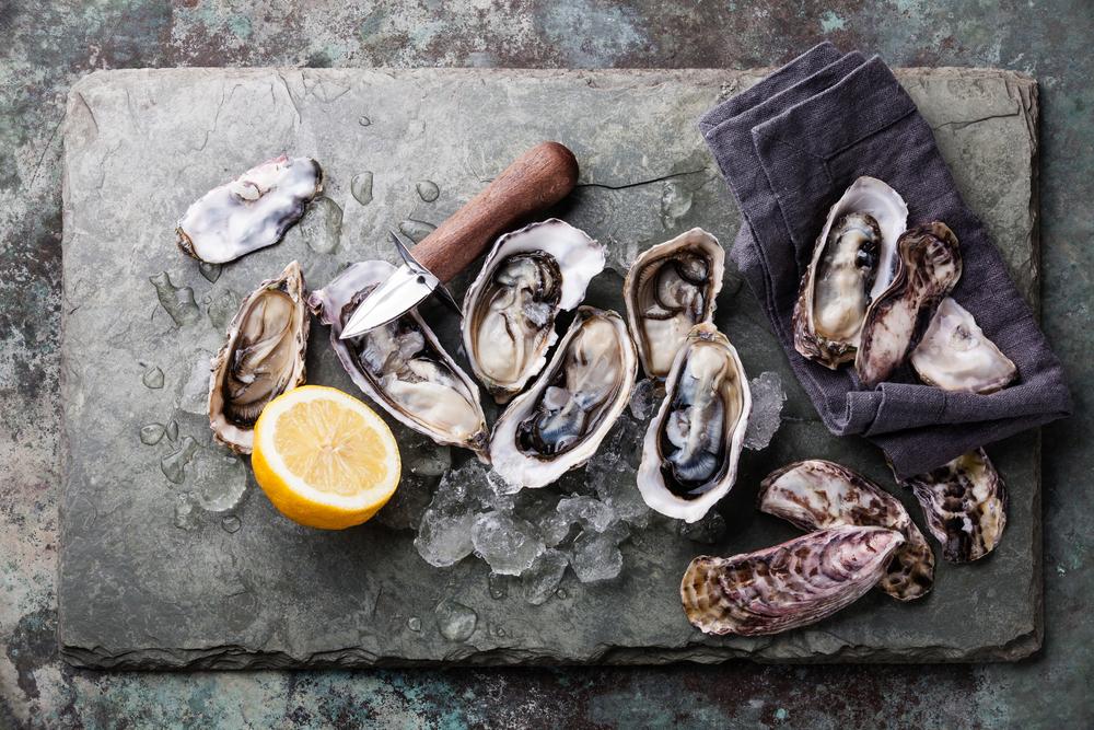 ouvrir des huîtres pour noel