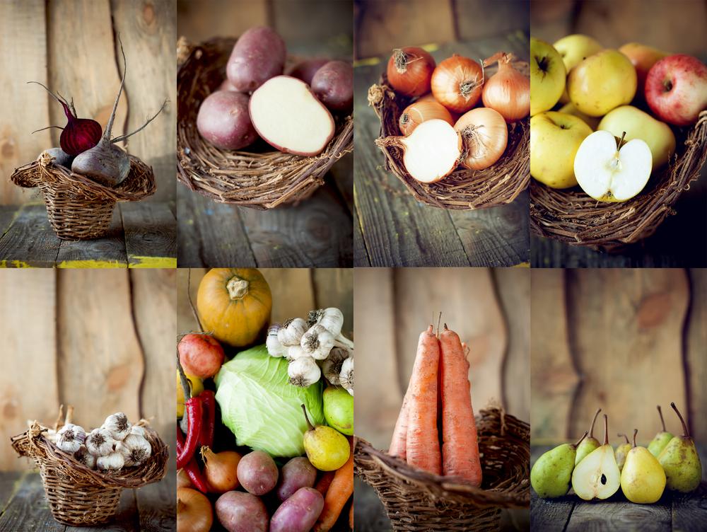 fruits et légumes de novembre proposé au supermarché ouvert marché frais