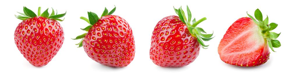 frise de fraises