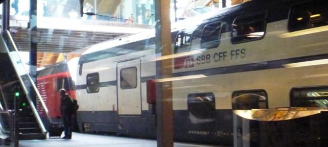 Passagem de Trem na Suiça PASSO A PASSO