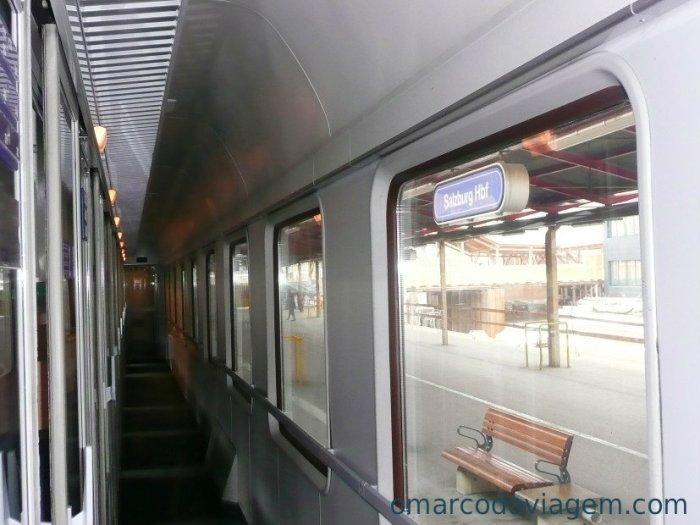 Passagem de Trem na ÁUSTRIA