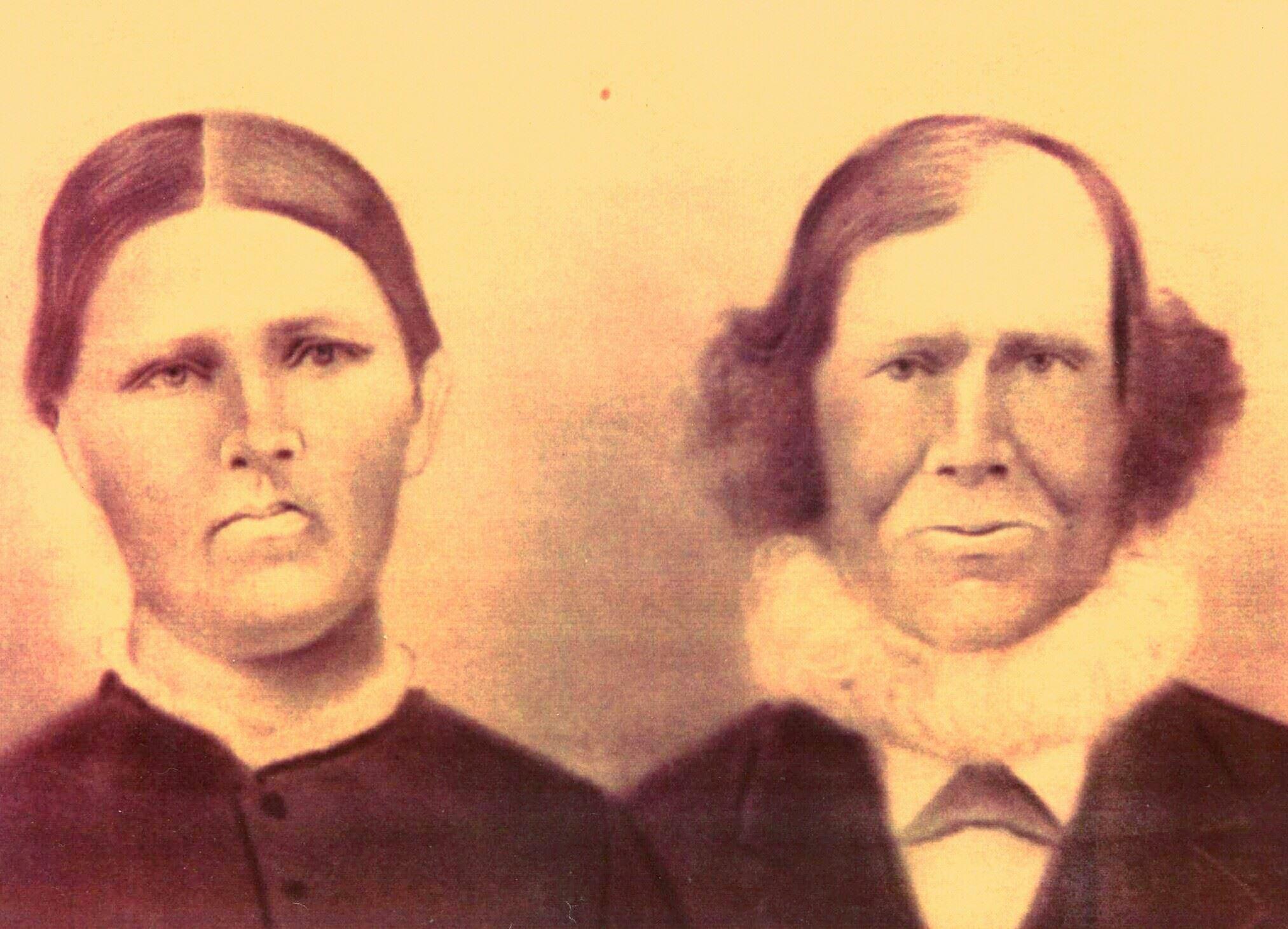Rachel Boothby Flynn and Thomas Flynn - circa 1860s