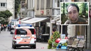 Alerta en Suiza por un hombre que atacó a 5 personas con una motosierra