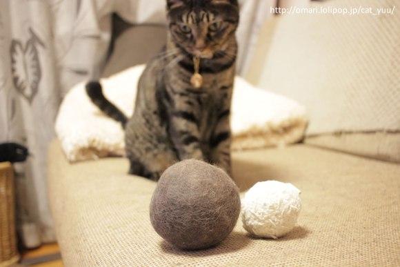 ゆうボールとおもちゃボール