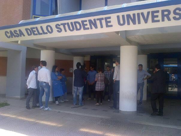 Mozione per difendere la Casa dello studente universitario  OMAR SARUBBO