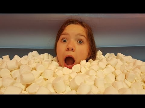 Swimming in marshmallows