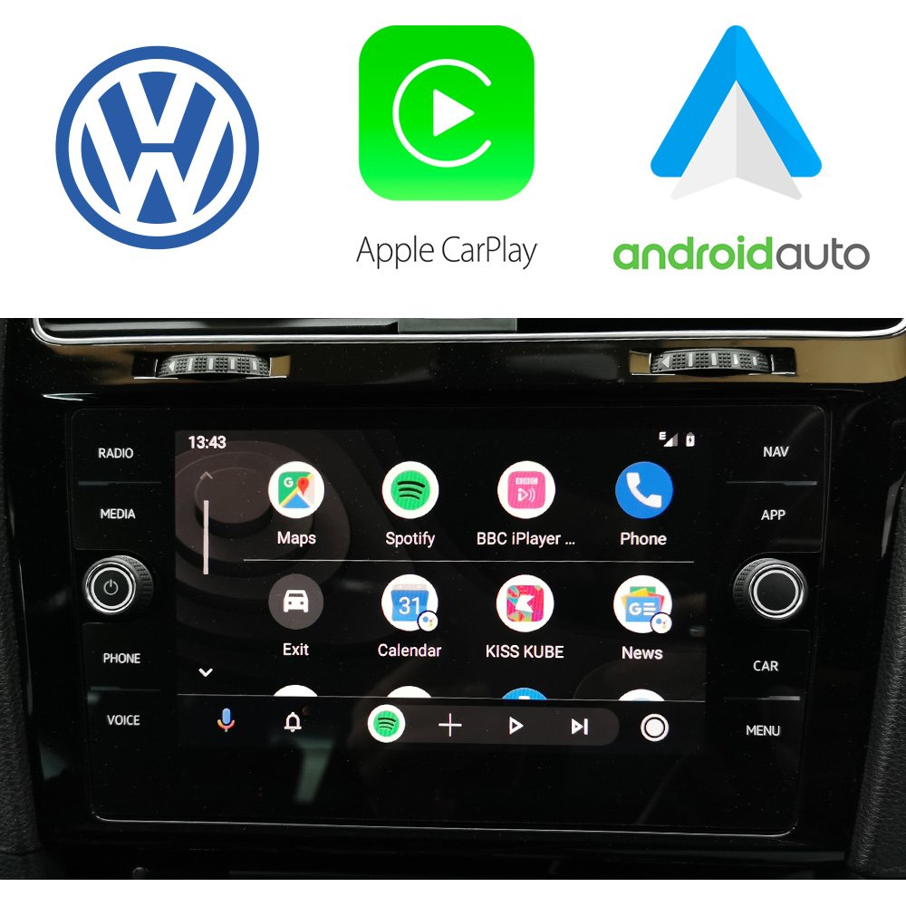 Auto Retrofit - Apple CarPlay & Android Auto Activation for VW MIB2 App Connect