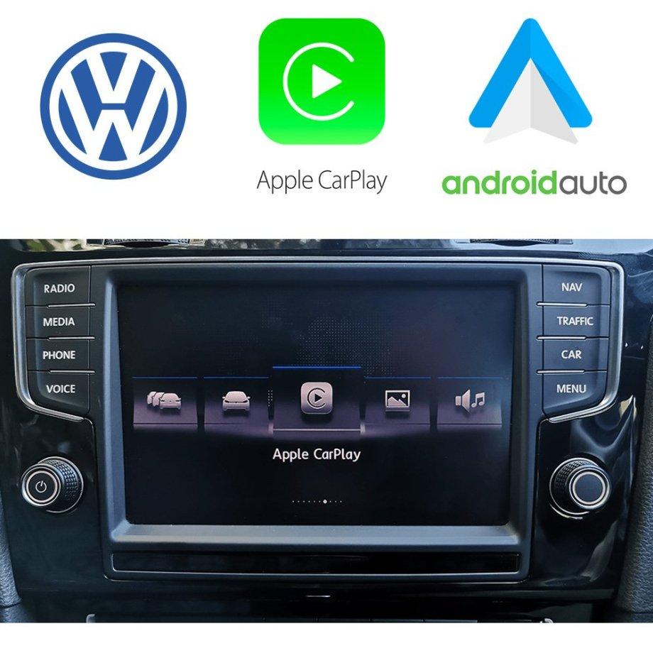Auto Retrofit - Apple CarPlay & Android Auto Activation for VW MIB2 App Connect
