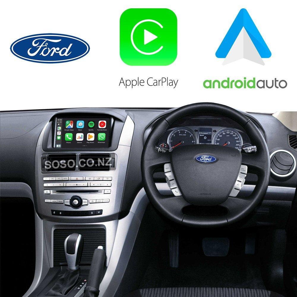 Auto Retrofit - Ford Falcon 2014~2017 Apple CarPlay & Android Auto Integration Kit (Wireless)