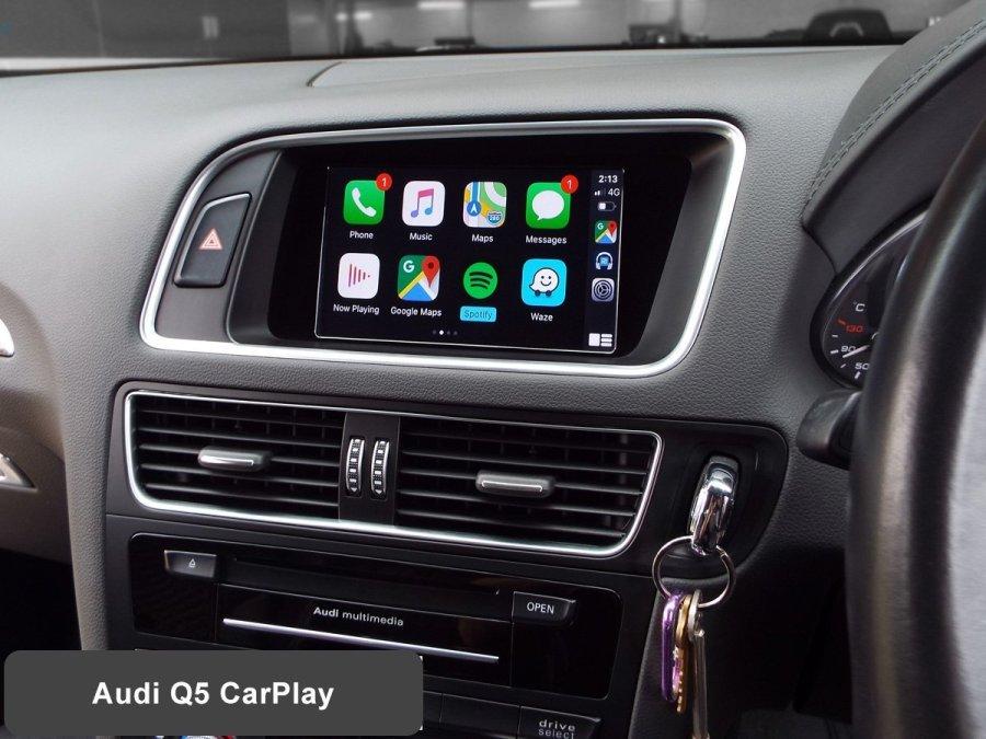 Auto Retrofit - Audi SQ5 with Wireless Apple CarPlay installed by Auto Retrofit