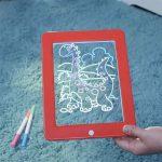 Drawing-Pad-Glowing