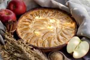 Apfel Vanille Auflauf