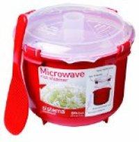Sistema Mikrowellen- Reiskocher rund-rot