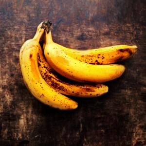 braune Bananen verwerten
