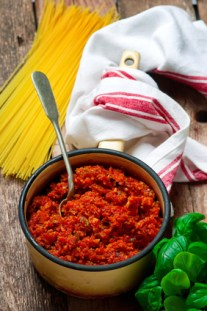 vegetarische Sauce Bolognese