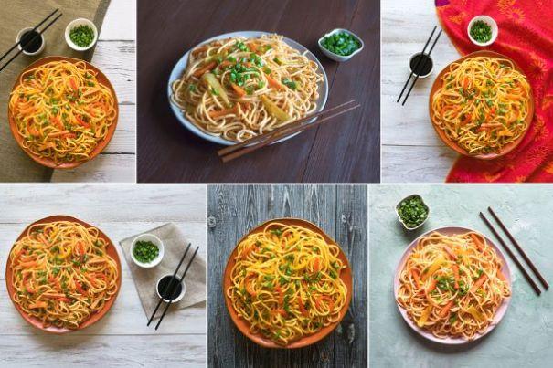 Gemüsespaghetti
