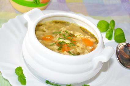 Eintropfsuppe